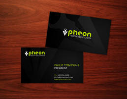 pheon business card by pungen