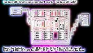 Psychedelic Nethack- Dwarftown by sgeos