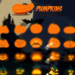 TDI Halloween pumpkins PACK