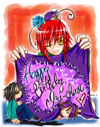 Happy Boithday, Iri-chan 8D