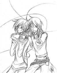 Dre and Kaoru : NOT LOVERS DX