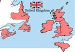 United Kingdom Map - Alternative History