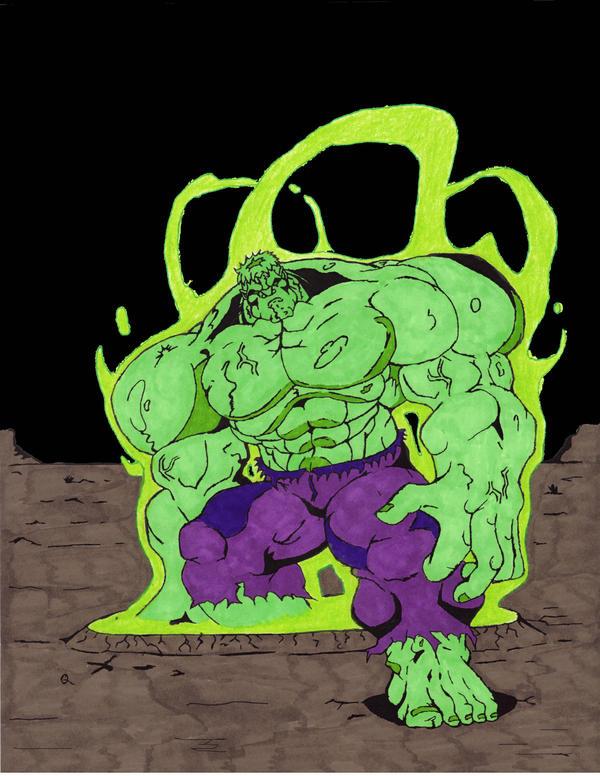 Gamma Ray Hulk by Art-...