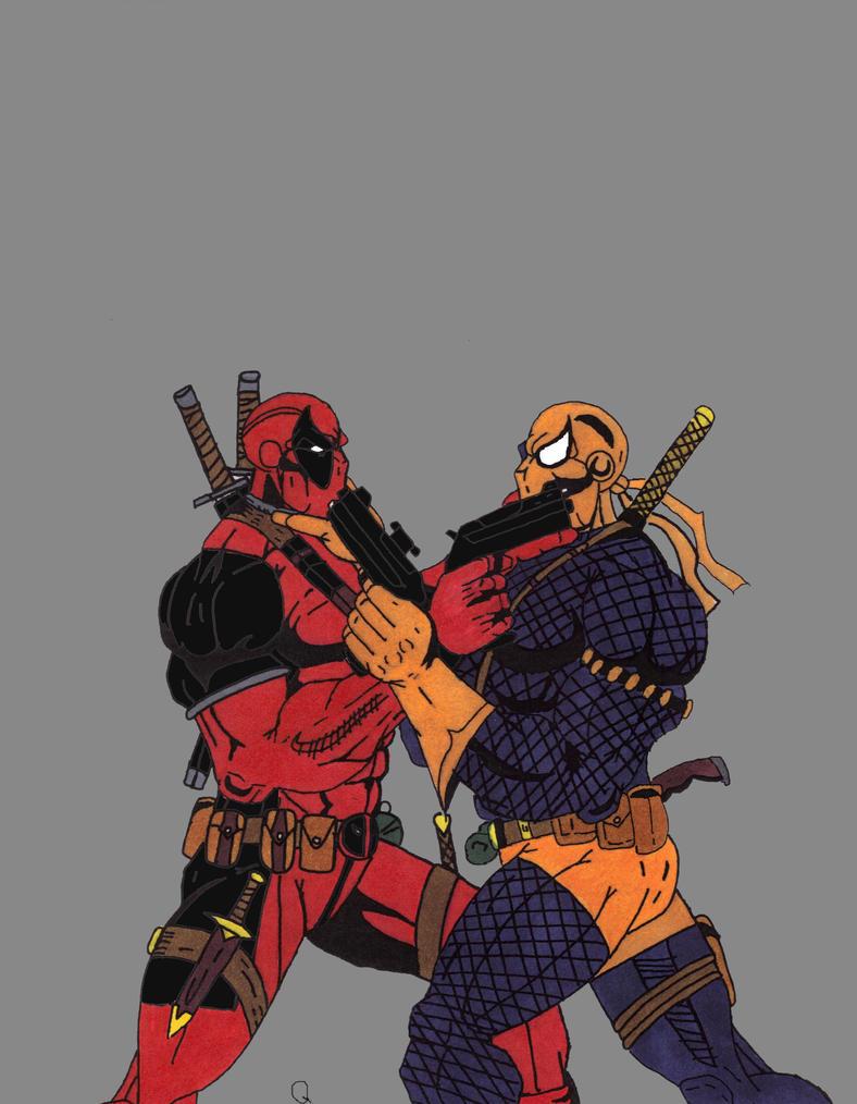 Deathstroke   Deadpool...