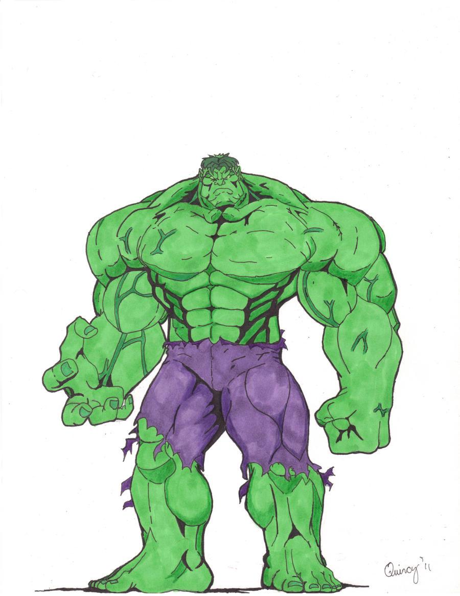 Hulk revised Color by Art-bully on DeviantArt