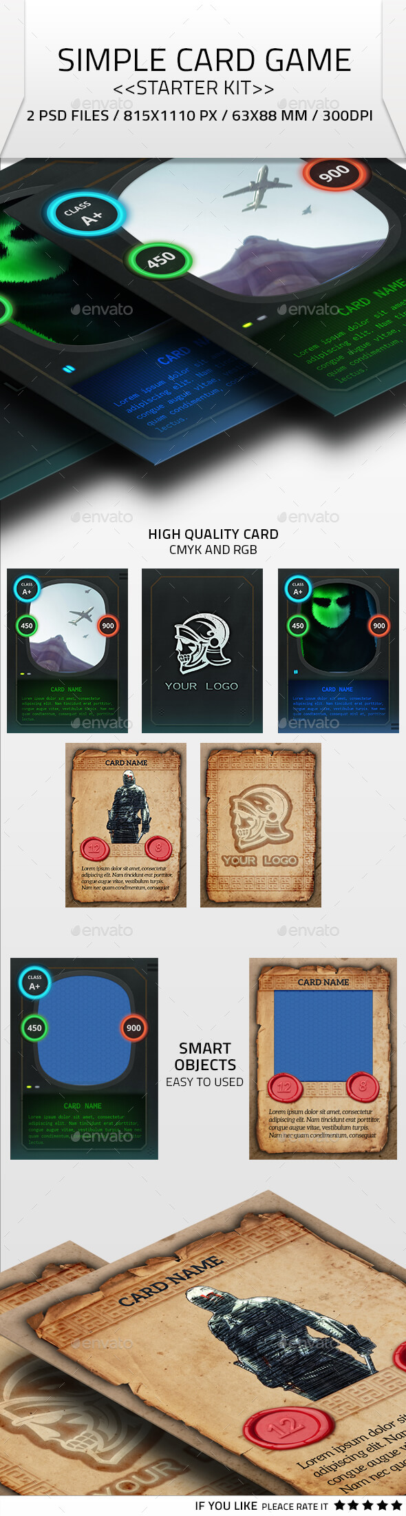 simple card game kit by ghostestudios on deviantart