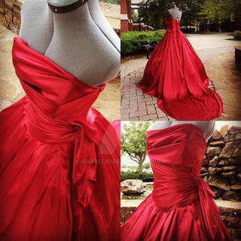 The Red Dress by Auraelai