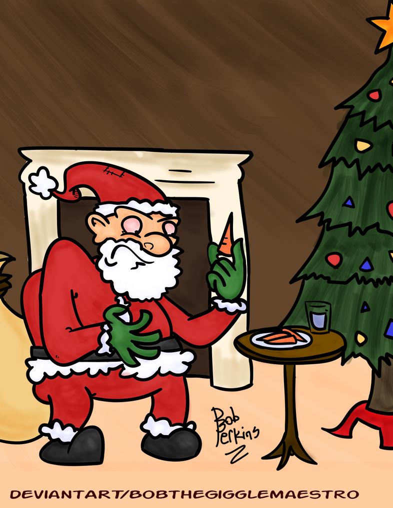 Santa's Confusion by BobtheGigglemaestro