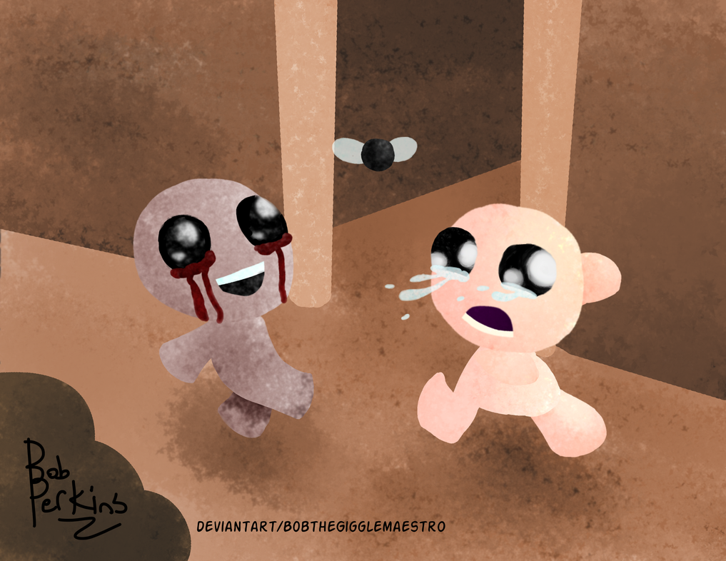 The Binding of Isaac : Rebirth by BobtheGigglemaestro