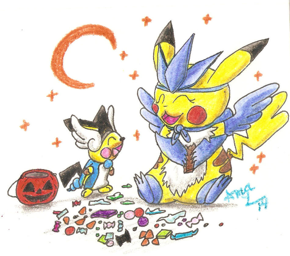 Halloween Mission 2014 by Ama-Encyclopika