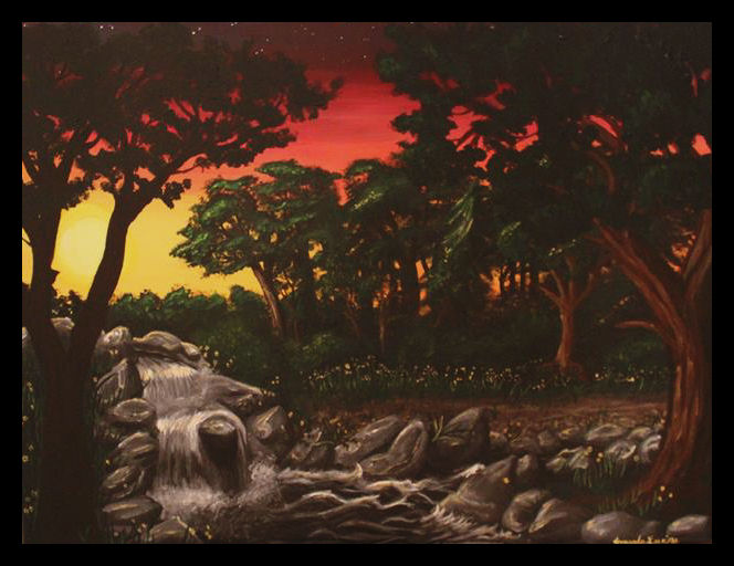 The Sun Sets by Ama-Encyclopika
