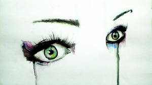 Cried eyes by LeeArtStudio