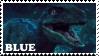 Blue Stamp by DeckyV