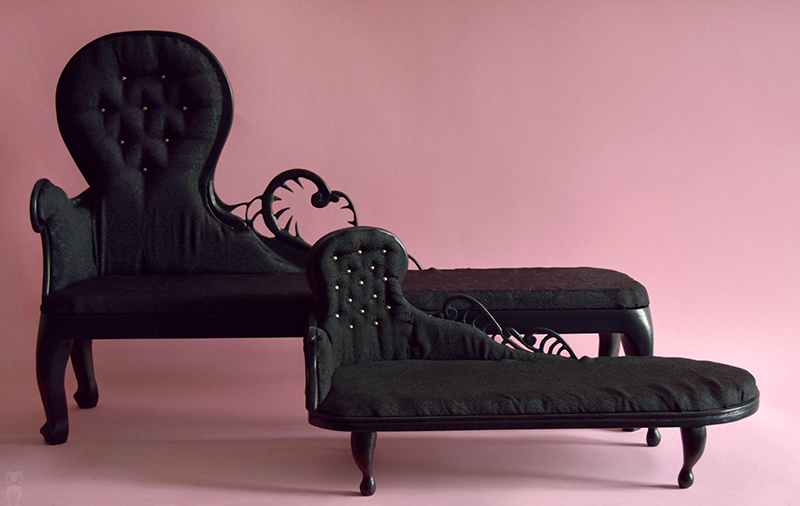 Sd Msd Gothic Chaise Longues by Katja-dollab