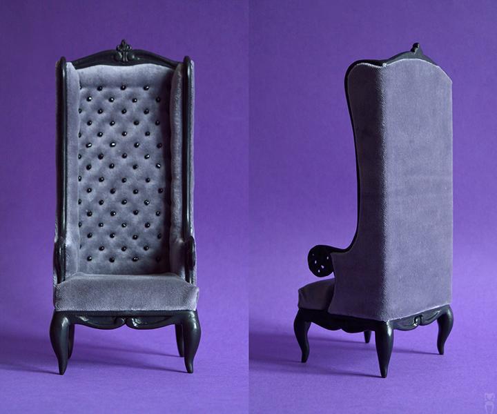 Grey Armchair by Katja-dollab