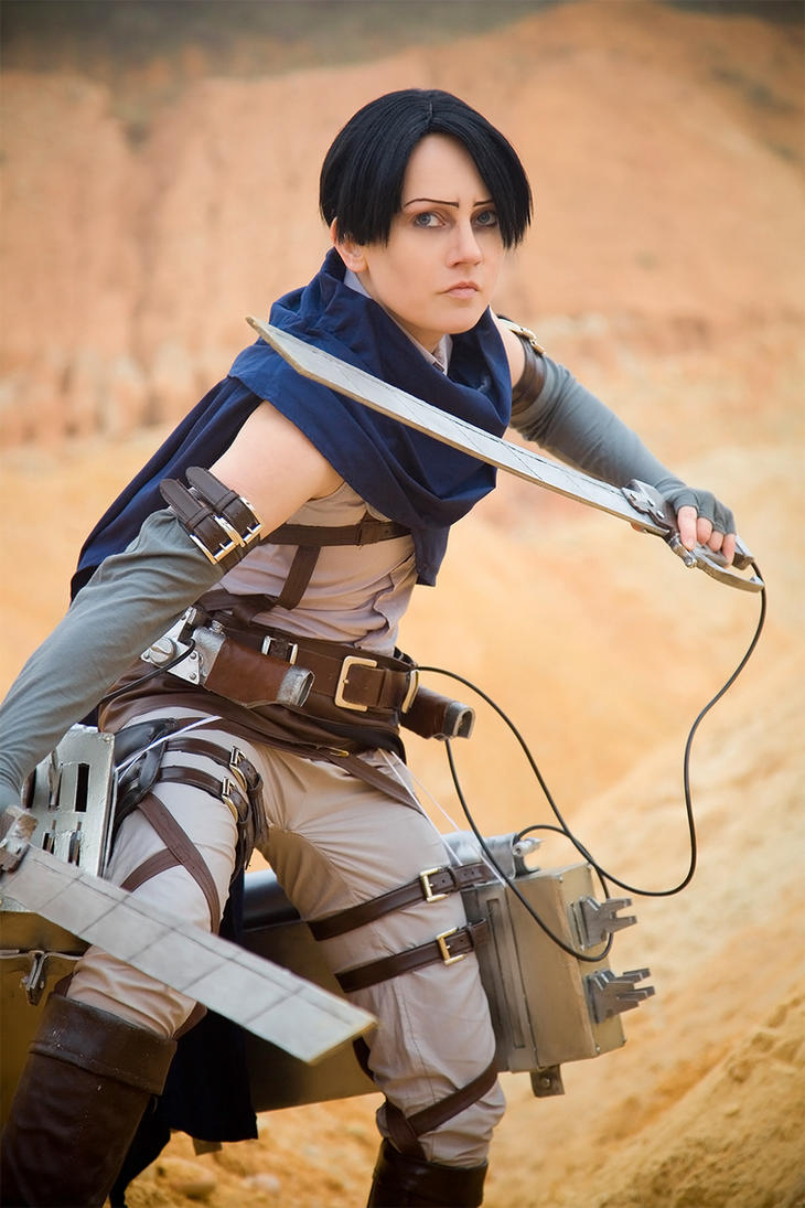 Wings of Counterattack - Levi by Colicade