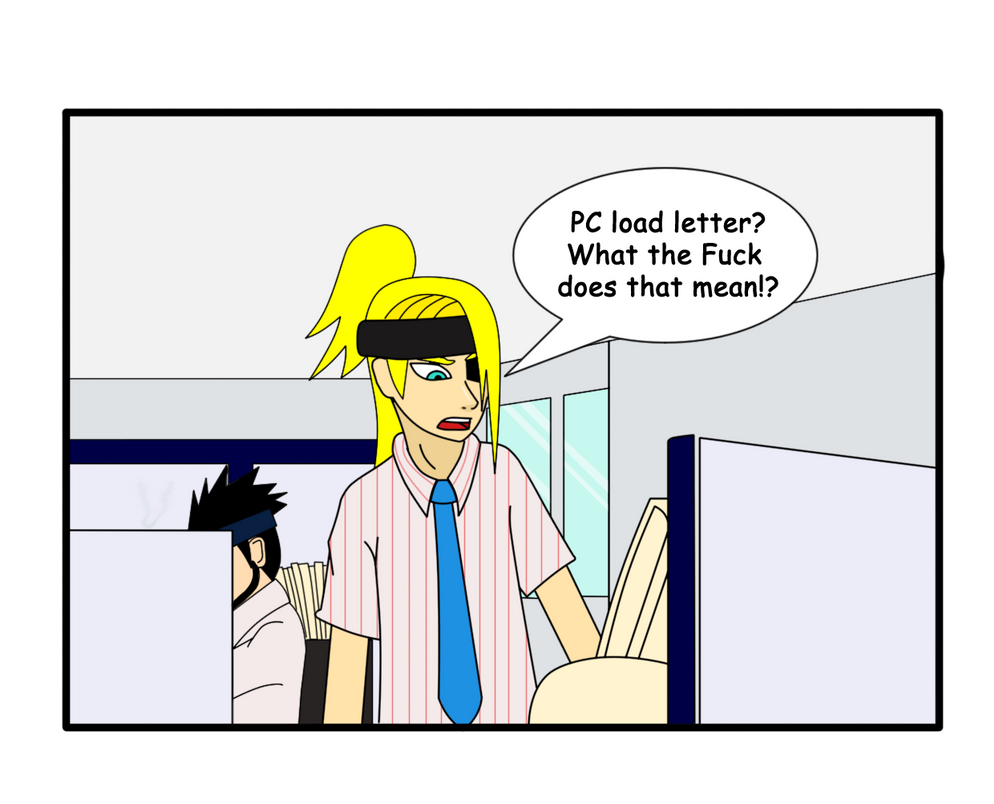 Office Space pc Load Letter pc Load Letter by Pugthug