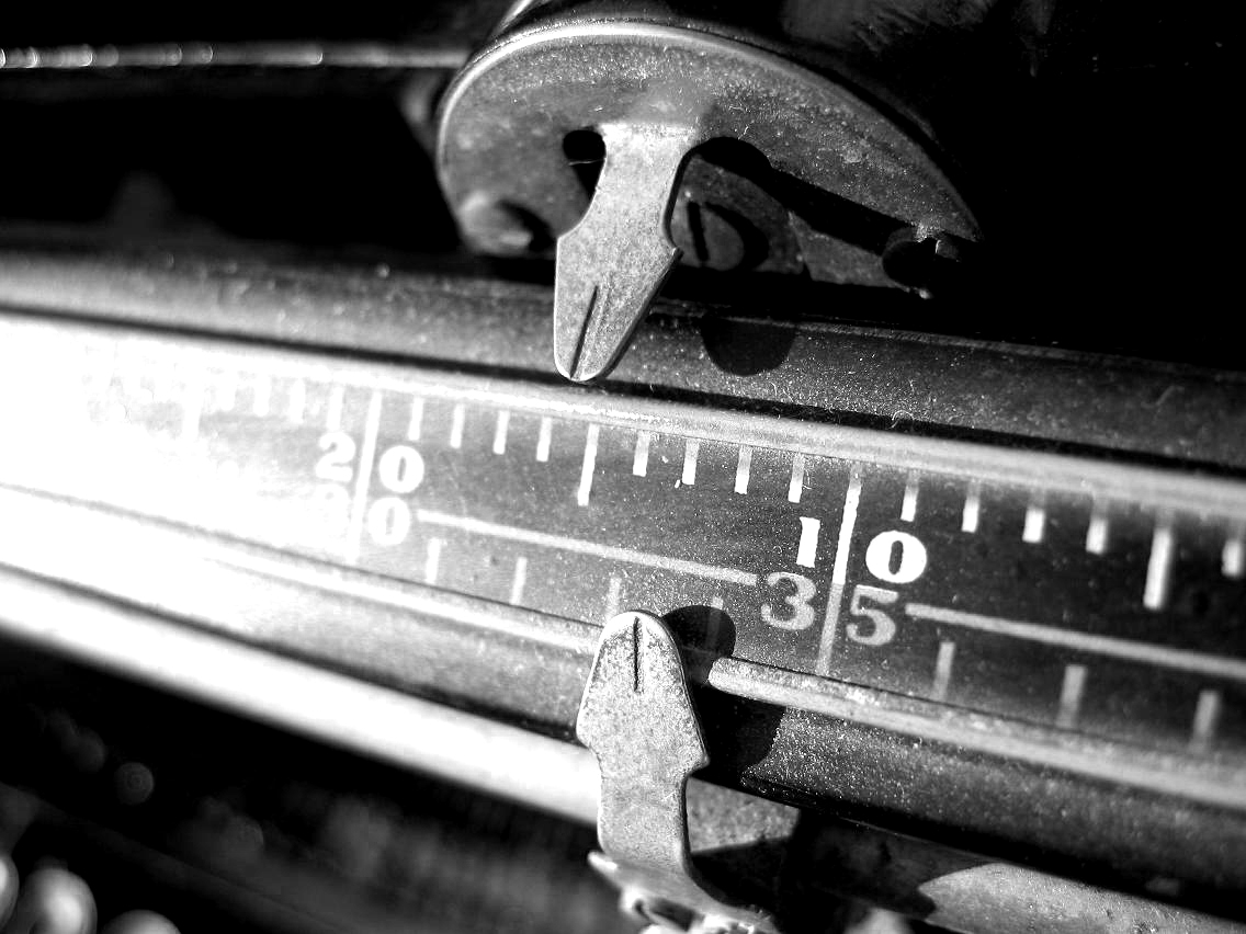 Typewriter Margin