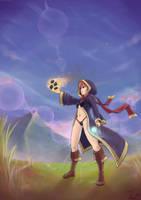Magical Maiden + speedpaint by NaiBuff