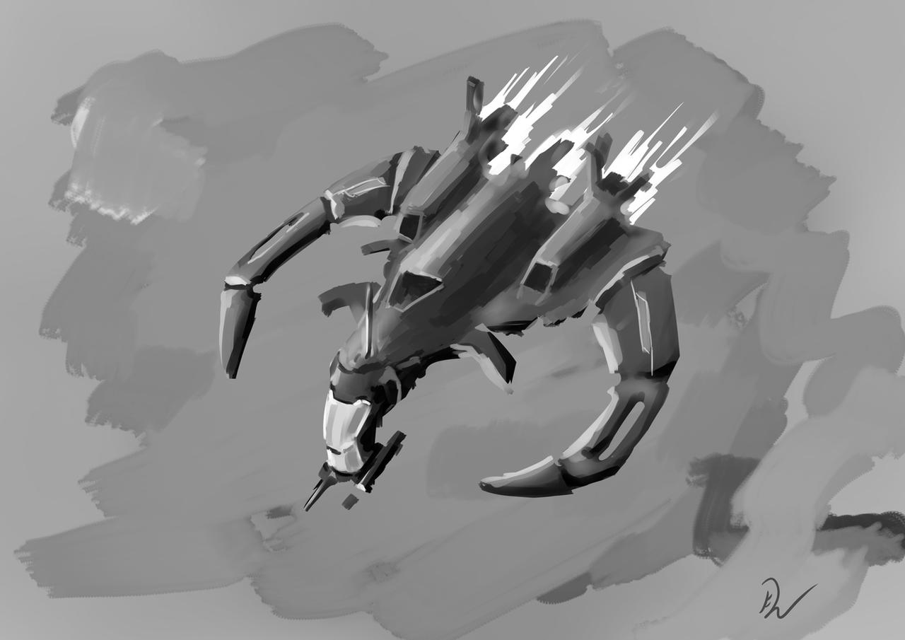 Scifi Jet Concept by NaiBuff