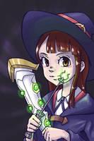 Little Witch Academia - Akko Kagari Fanart by NaiBuff
