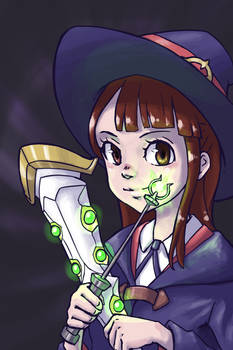 Little Witch Academia - Akko Kagari Fanart