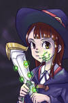 Little Witch Academia - Akko Kagari Fanart