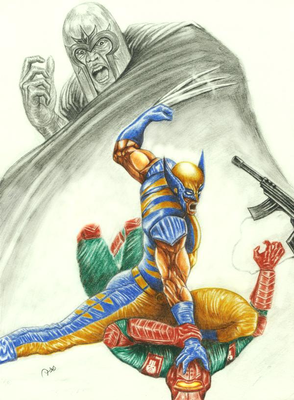 Wolverine by strangeillusion