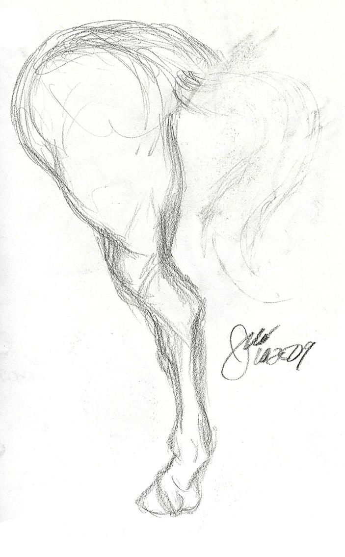 It's just a photo of Fabulous Horse Legs Drawing