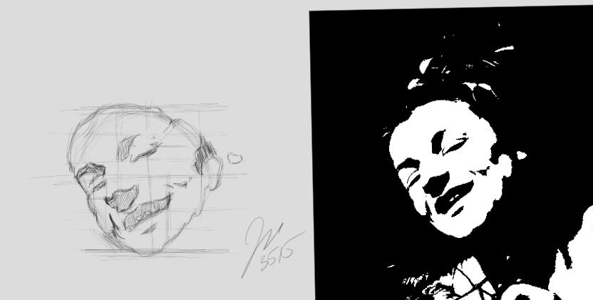 Caravaggio Study by elipse