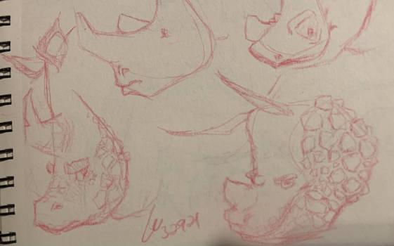 Rhino + Gilla Monster