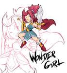 Wonder Girl the Hu-man by Emuraman