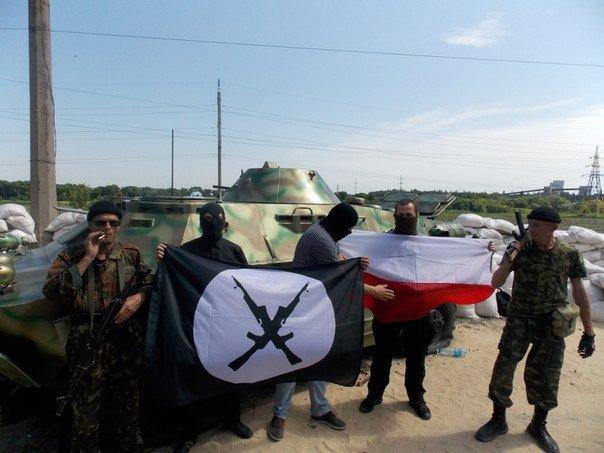 Polish volunteers in Donbass by nikitakartinginboxru