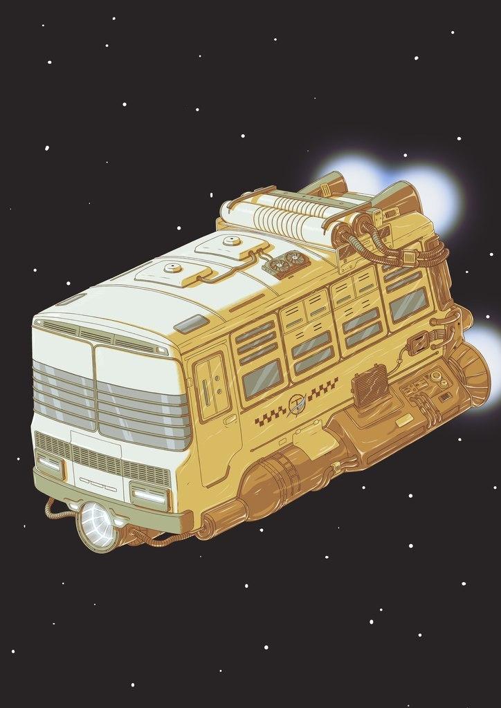 ''Iterplanetautotrans'' PAZ by nikitakartinginboxru