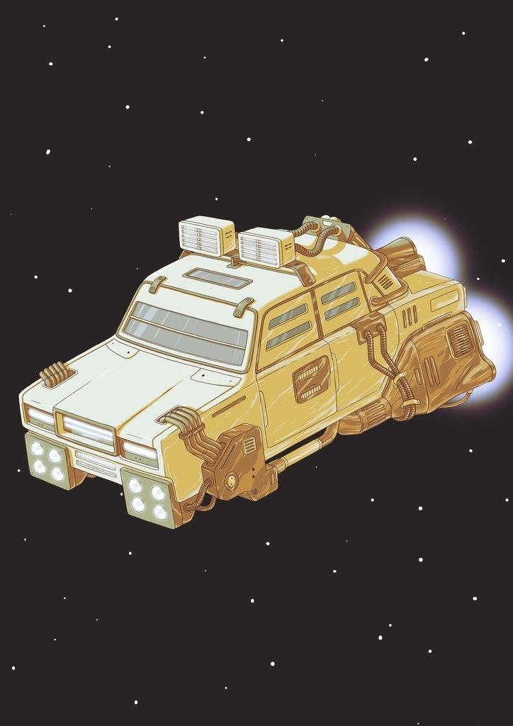 SpaceVAZ by nikitakartinginboxru