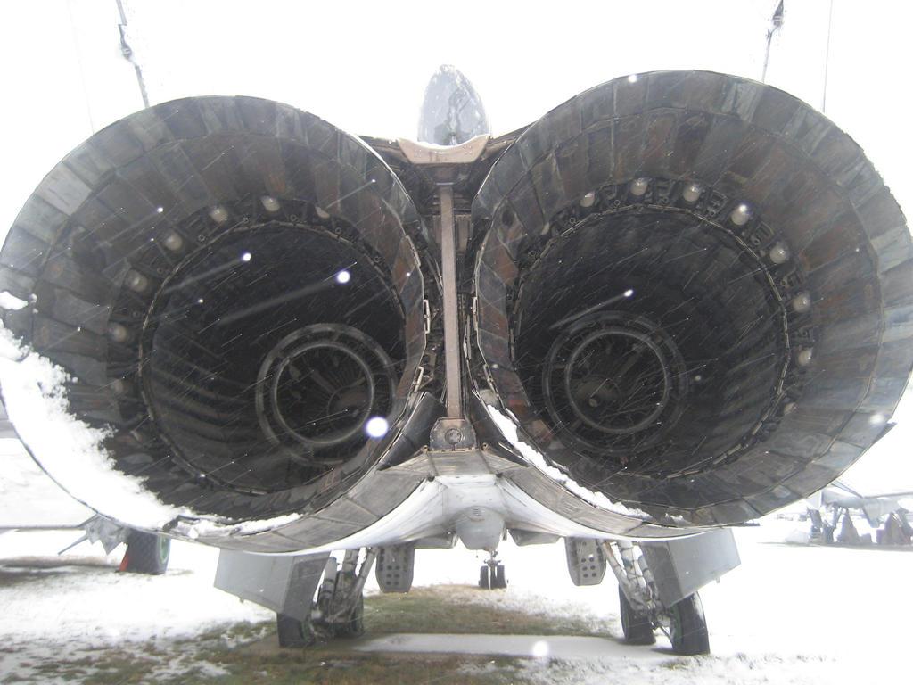 MiG-31's exhausts by nikitakartinginboxru