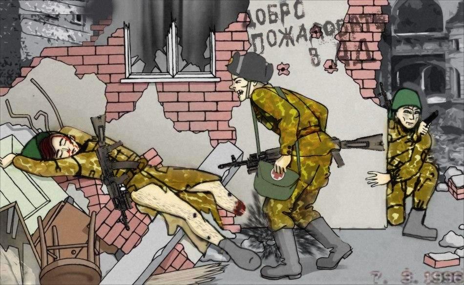 First Chechen War By Nikitakartinginboxru On Deviantart