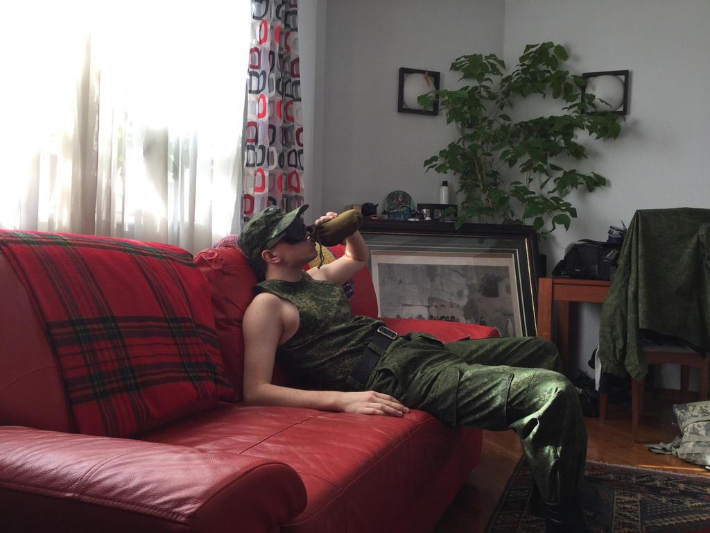 Tired lieutenant by nikitakartinginboxru