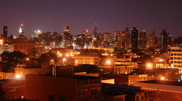 Night View from Astoria by HarrisGraber