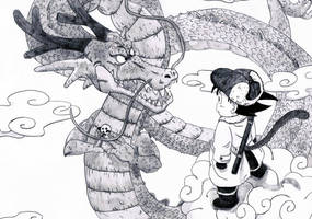 Meet the dragon by Fan-Evelyne