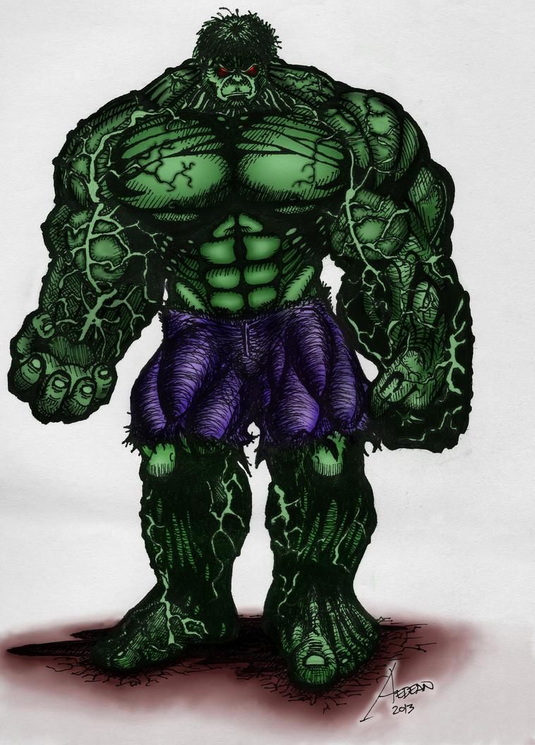 Hulk by manalangmitra