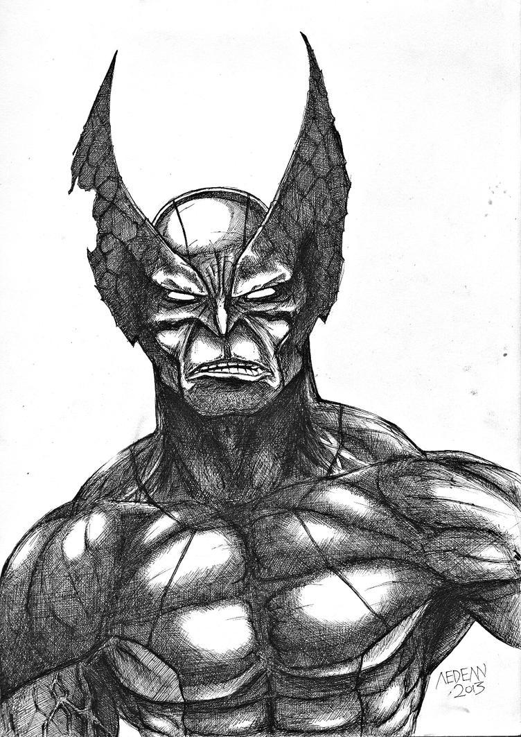 Wolverine by manalangmitra