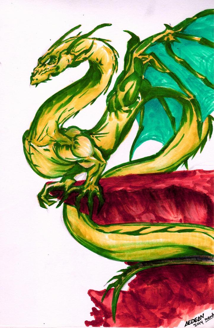 Dragon by manalangmitra