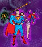 Superman Family 2017 by ckdck