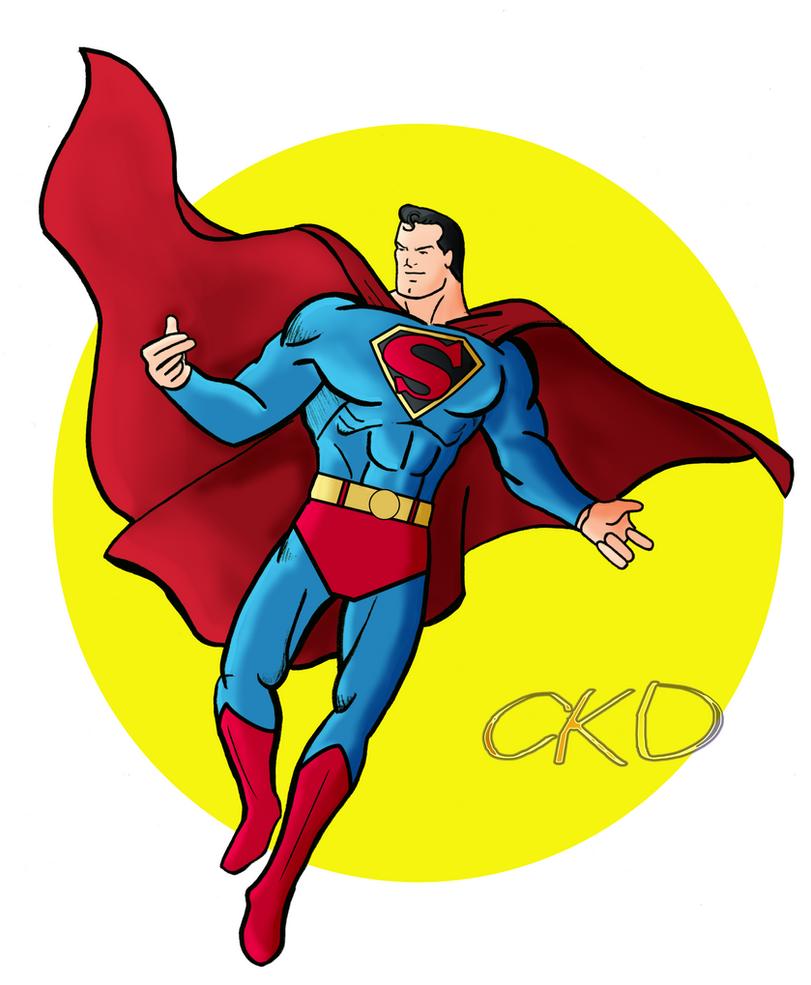 Superman-Old School by ckdck