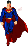 Superman render