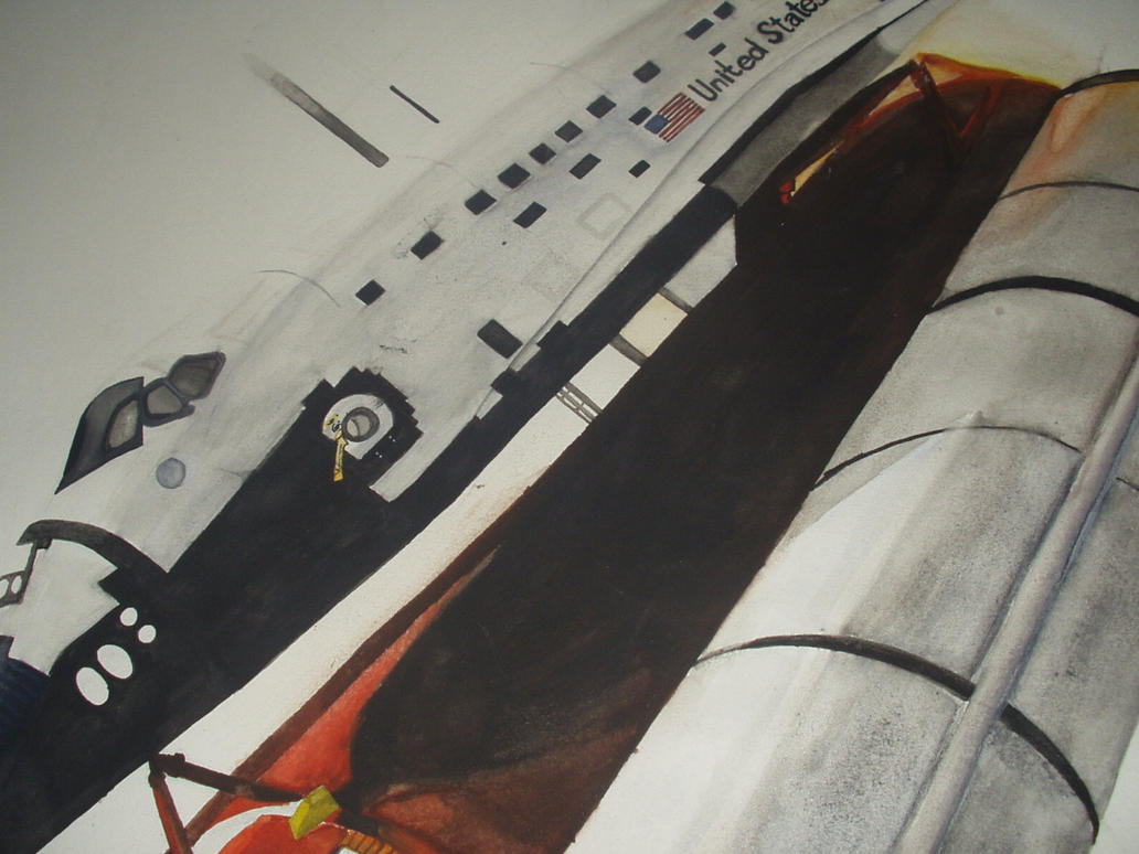 Space Shuttle by RNCurrell on deviantART
