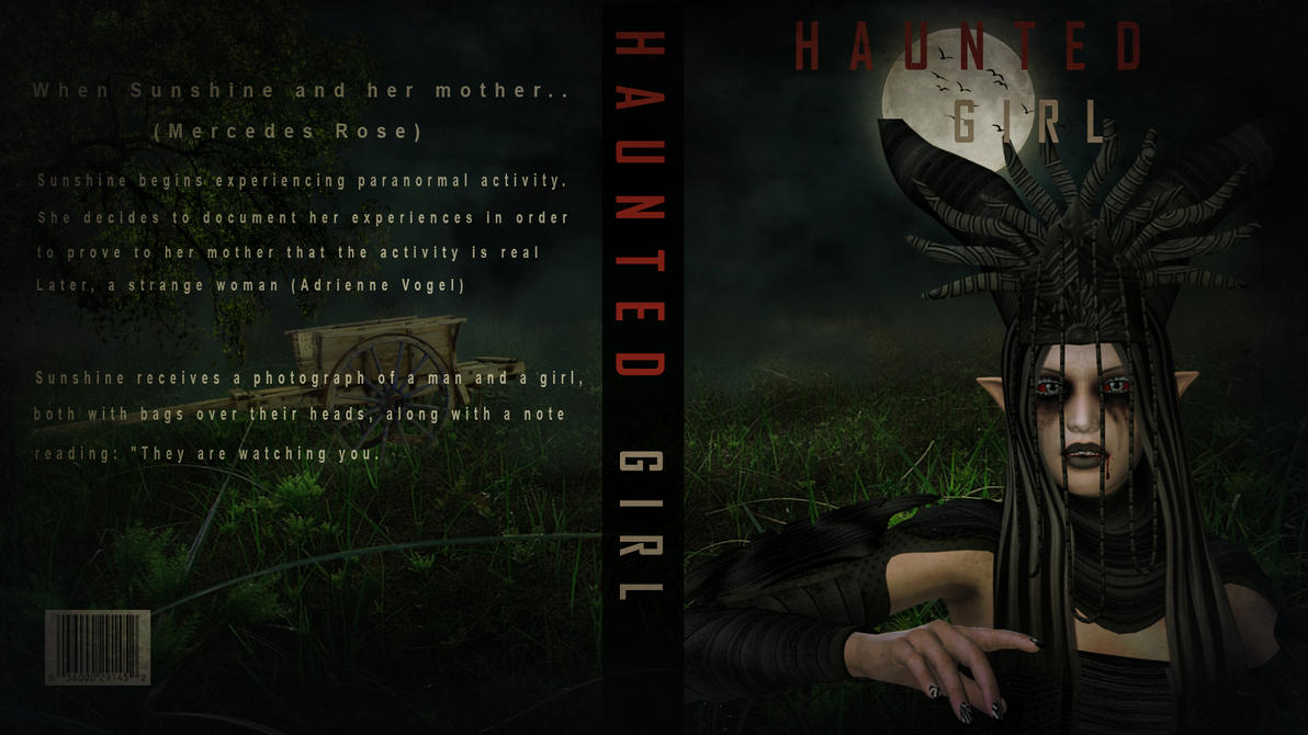 Haunted girl (Book cover ) by jarryshah