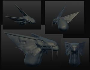 Leviathan Bust