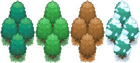 Season Trees - Basic by DestinedHero